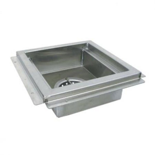 "12"" x 12"" Stainless Floor Drain"