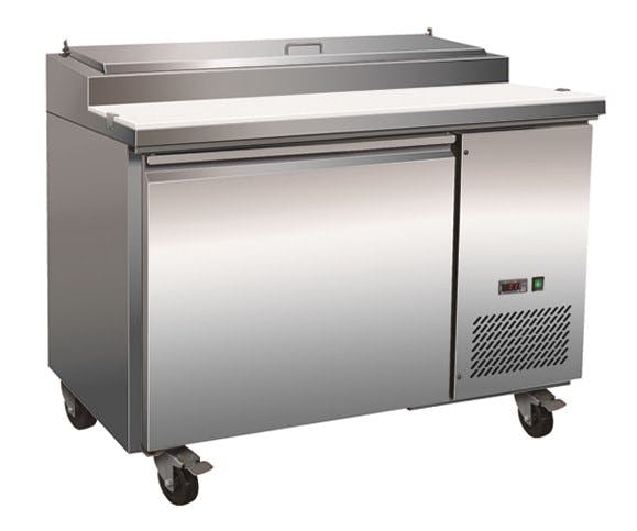 Serv-ware Pizza Prep Table (6 pan) - sold by pizzaovens.com