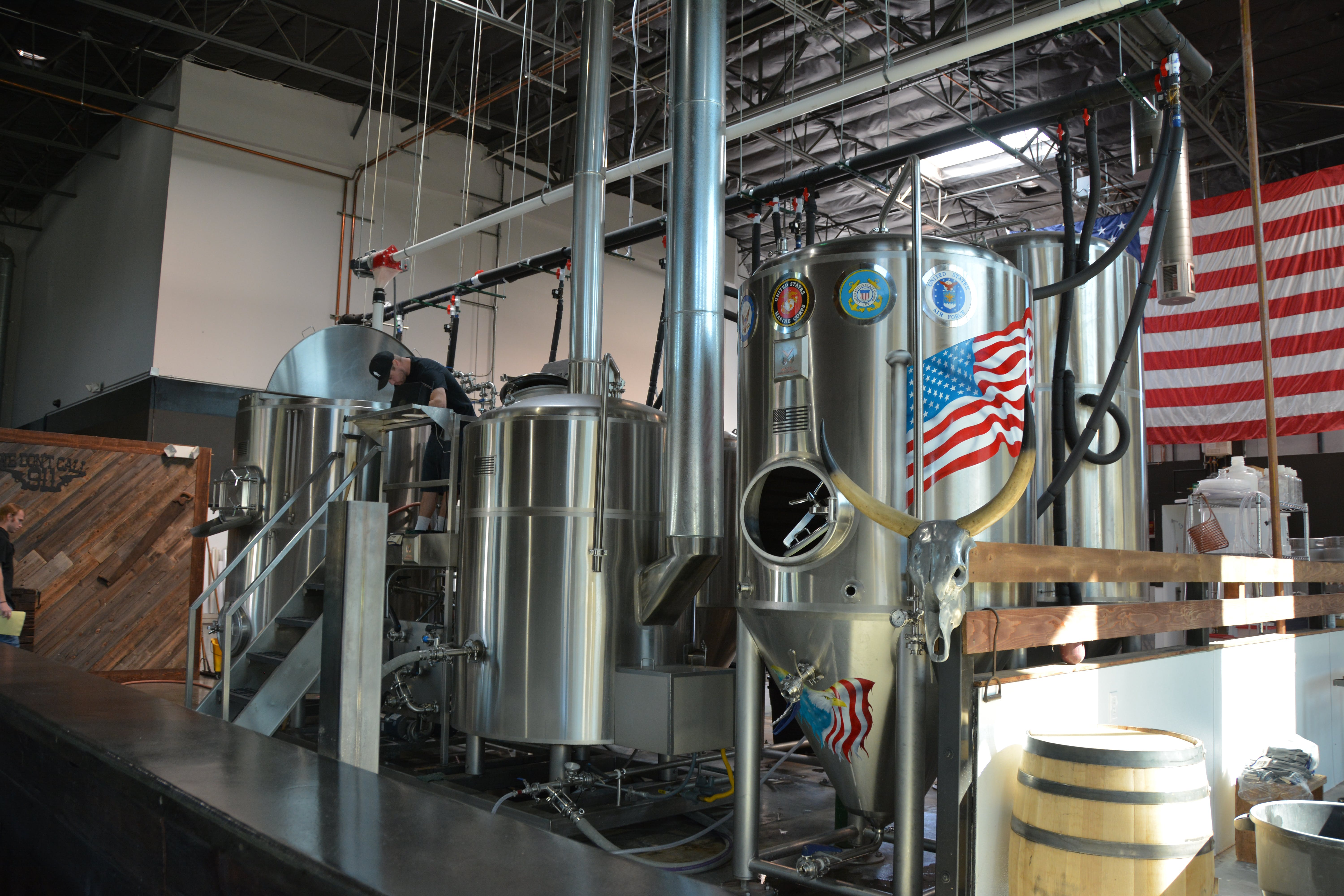10 BBL 2 Vessel Direct Fire Brewhouse - Marks Design & Metlworks Brewhouse sold by Marks Design and Metalworks