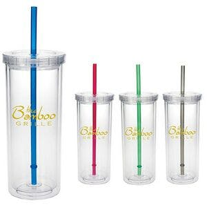 Good Value 16 Oz. Tall Tumbler W/ Straw Plastic cup sold by Dechan, Inc. II