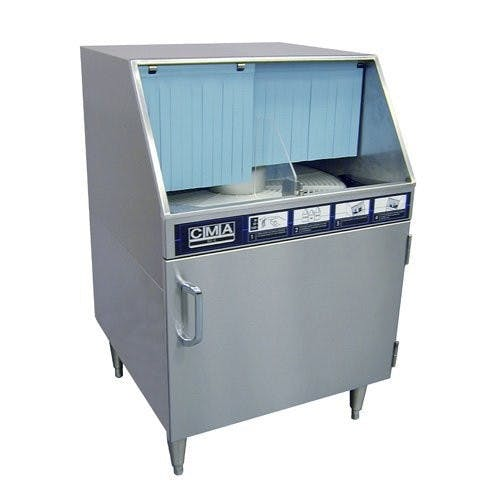 CMA Dishmachines GL-C Rotary Glasswasher - Low Temp, 220V Commercial glass washer sold by Mission Restaurant Supply