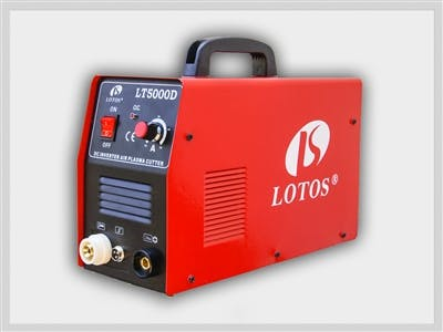 LOTOS LT5000D Dual Voltage (110/220VAC) 50Amp Plasma Cutter Plasma cutter sold by LOTOS Technology