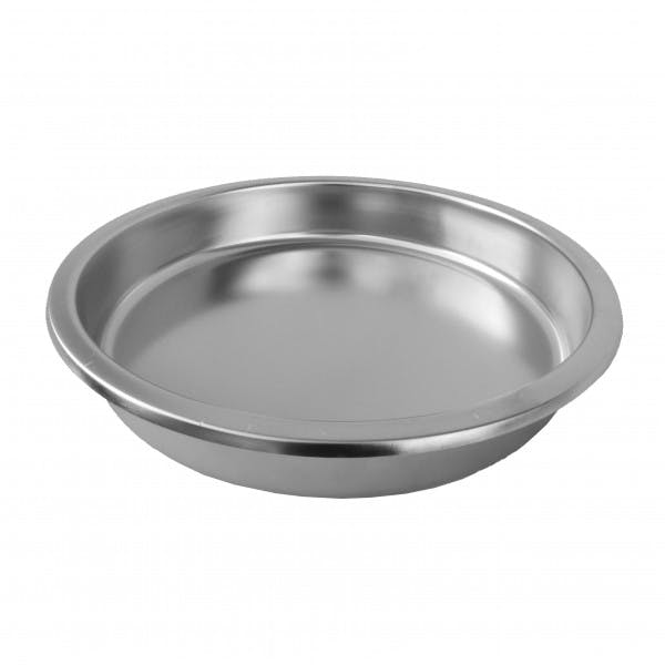 Stainless Round Chafer Insert Pan