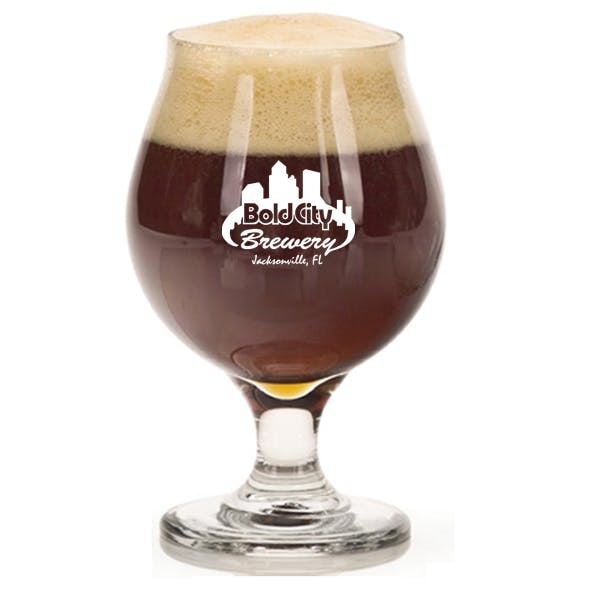 16oz Belgian Beer Glass Beer glass sold by MicrobrewMarketing.com