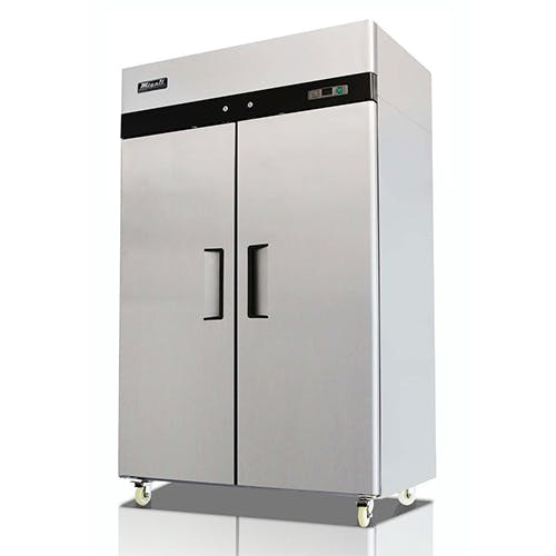 C-2F Double Door Migali Freezer Commercial freezer sold by Pizza Solutions