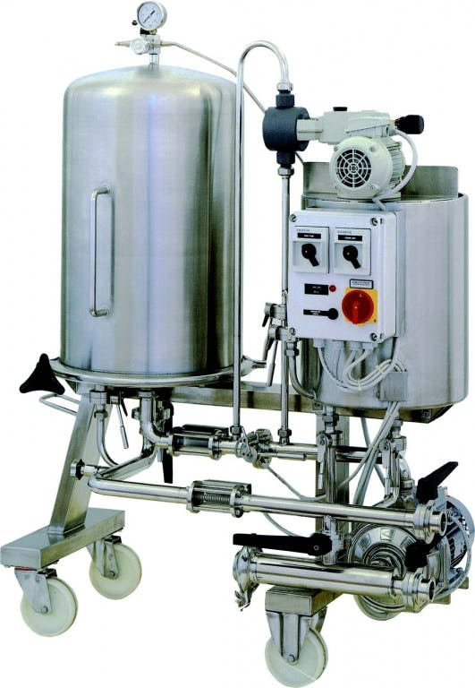ITALfilters DEM 5 BEER filtration Brewing filtration sold by Prospero Equipment Corp.