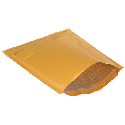 Kraft Heat-Seal Bubble Mailers Kraft packaging sold by Ameripak, Inc.