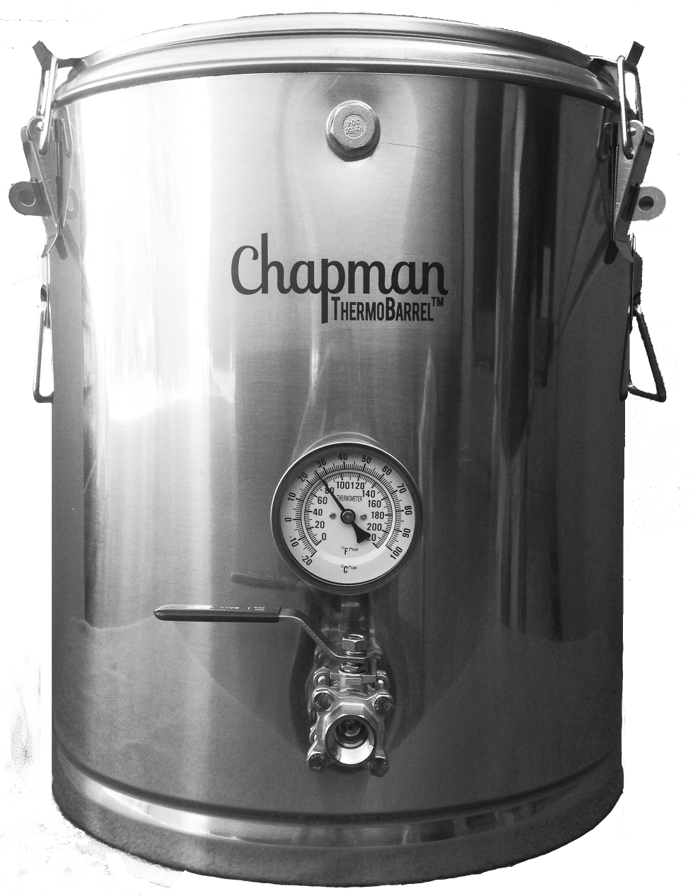 ThermoBarrel Mash Tun Mash tun sold by Chapman Brewing Equipment, LLC