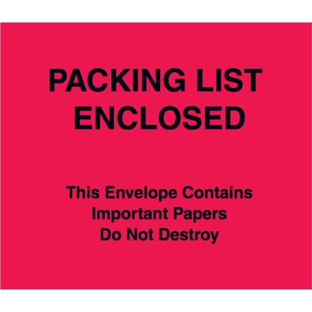 Important Papers Enclosed Envelopes Paper packaging sold by Ameripak, Inc.