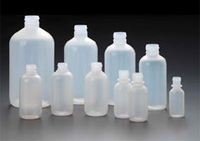 Modern Boston Rounds Plastic bottle sold by Kaufman Container Company