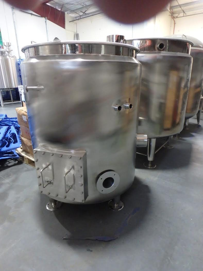 5 bbl Insulated Brew Kettle - sold by GLACIER TANKS