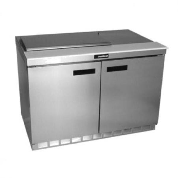Sandwich/Salad Top Refrigerator Prep Table - V-DEF4448N-8