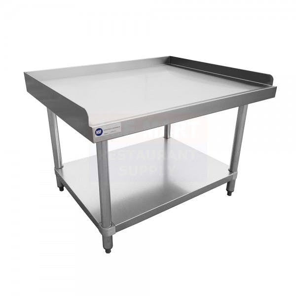 "30"" x 48"" Stainless Equipment Stand"