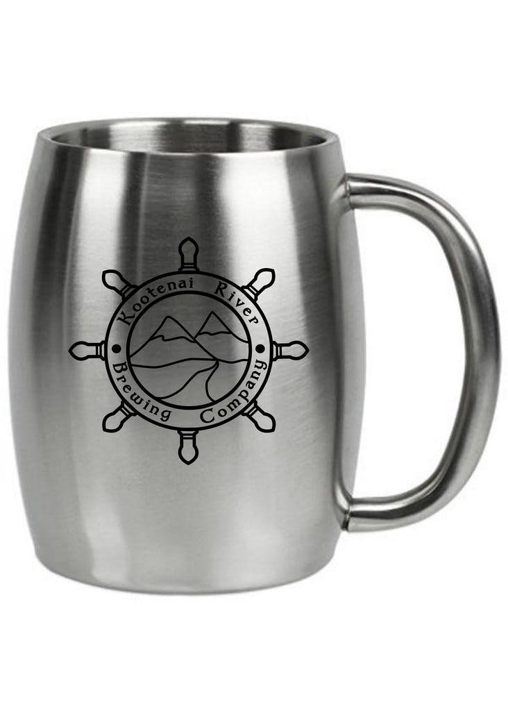 Double Wall Insulated Barrel Mug Stainless steel mug sold by Clearwater Gear