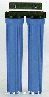 Whole House Filter - WHOLE HOUSE WATER FILTER DOUBLE UNIT 20? - sold by Aqua Belle Mfg, Co.