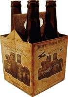 4-pak bottle carrier Bottle carrier sold by ARROW PAPER CO