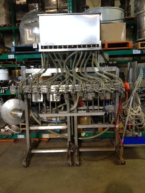 ELF Valve Filling Machine Bottle filler sold by Aevos Equipment