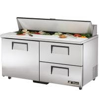 "True TSSU-60-16D-2-ADA - 60"" 2 Drawer Sandwich/Salad Prep Table Food prep table sold by Prima Supply"