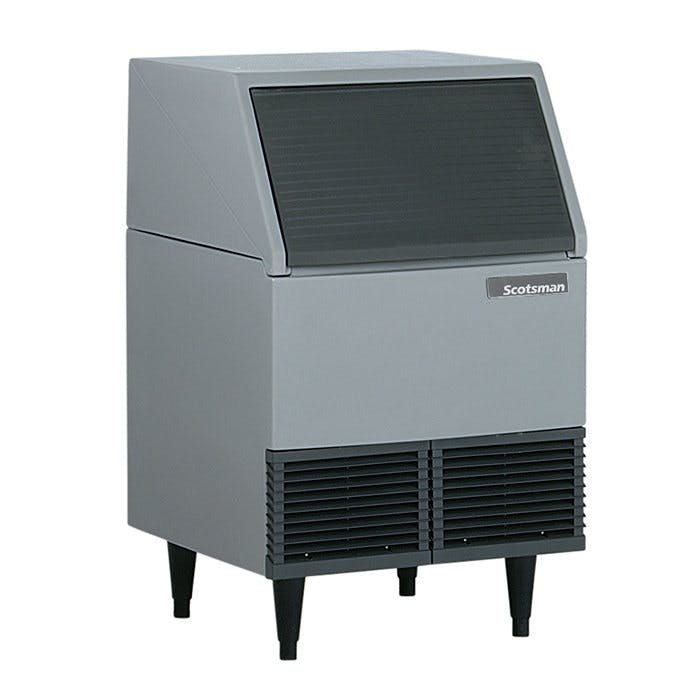 Scotsman AFE424W-1 Water Cooled Undercounter Flake Ice Machine - 395 lb. Ice machine sold by WebstaurantStore