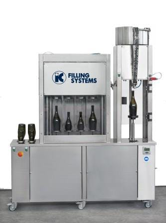 Counterpressure Rinser Filler Capper for BEER Bottle filler sold by IC Filling Systems
