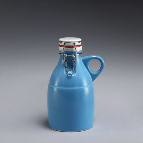 Grigri Growlette - Gloss Blue 32oz Growler sold by Portland Growler Company