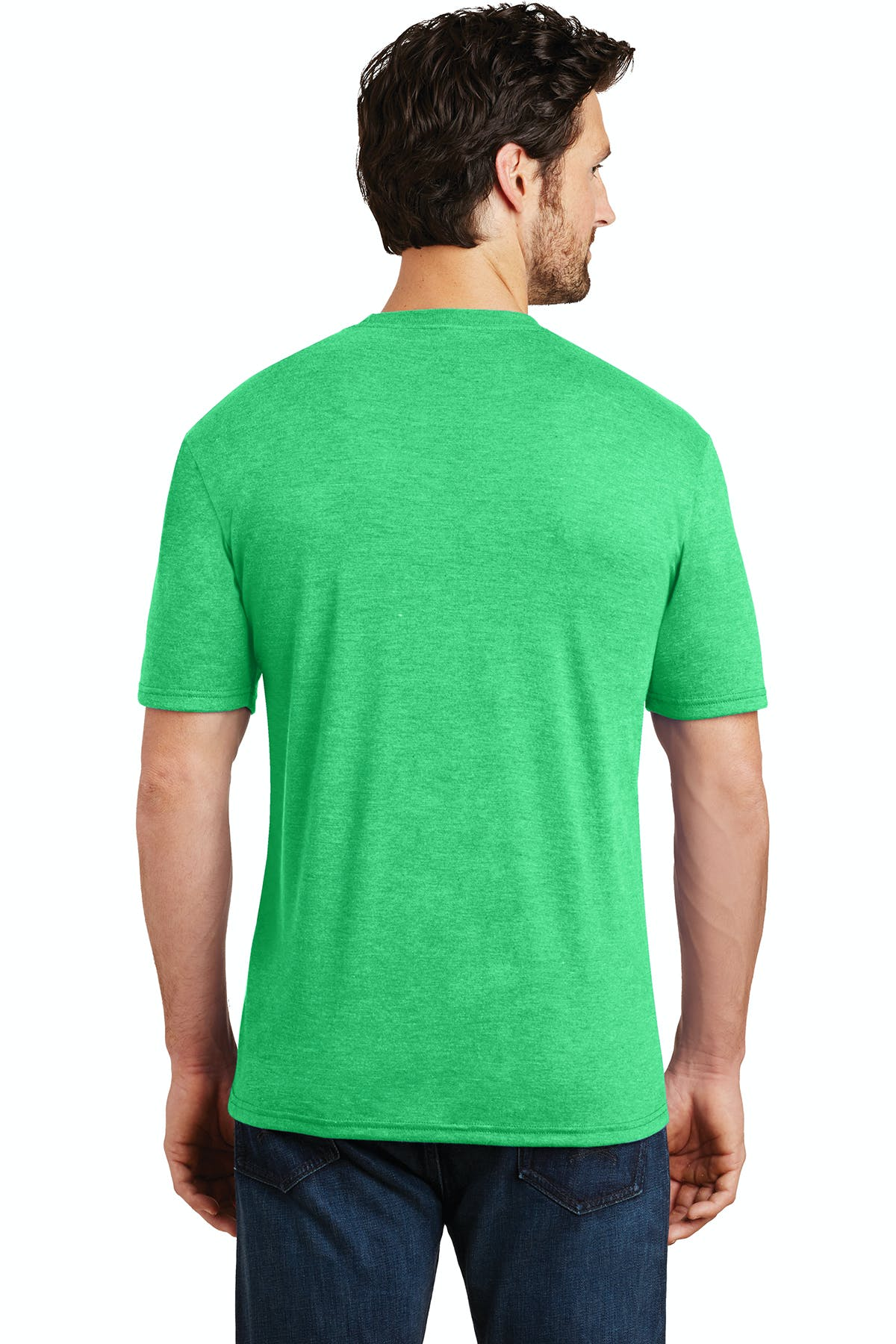 District Made® Mens Perfect Tri® Crew Tee - sold by PRINT CITY GRAPHICS, INC