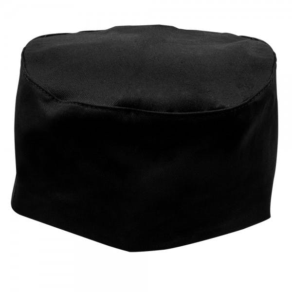 Black Skull Cap Hat