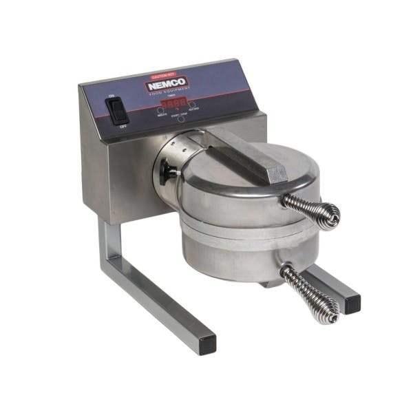 240v Belgian Waffle Baker w/ Stainless Removable Grids