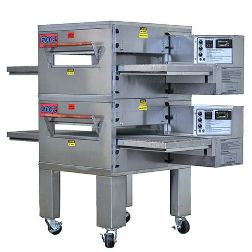 EDGE 30 Series Double-Stack Gas Conveyor Pizza Oven Commercial oven sold by Pizza Solutions