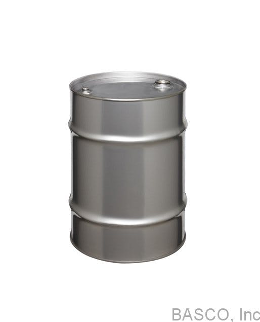 10 Gallon Tight-Head Stainless Steel Drum Drum sold by BASCO