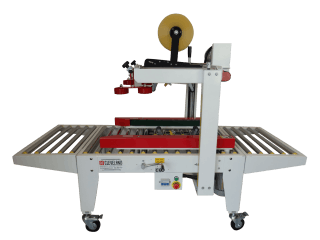CE-554TS Uniform Semi-Automatic Carton Sealer Case sealer/taper sold by Cleveland Equipment