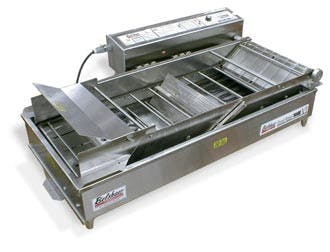 Belshaw Adamatic by Unisource Mark 6 - Donut Robot Electric Automatic Fryer Commercial fryer sold by Elite Restaurant Equipment