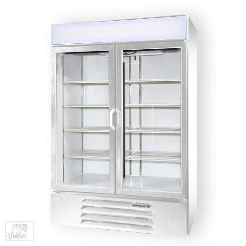 "Beverage Air - LV49-1 52"" Glass Door Merchandiser Commercial refrigerator sold by Food Service Warehouse"