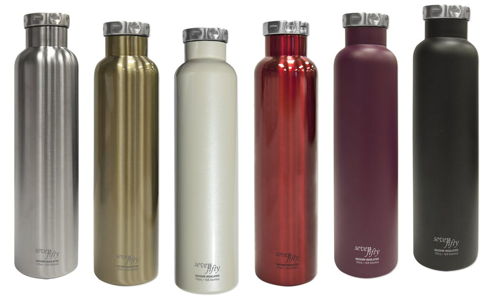 Wine Growlers Growler sold by Fifty/Fifty Bottles (Icy-Hot Hydration, LLC)
