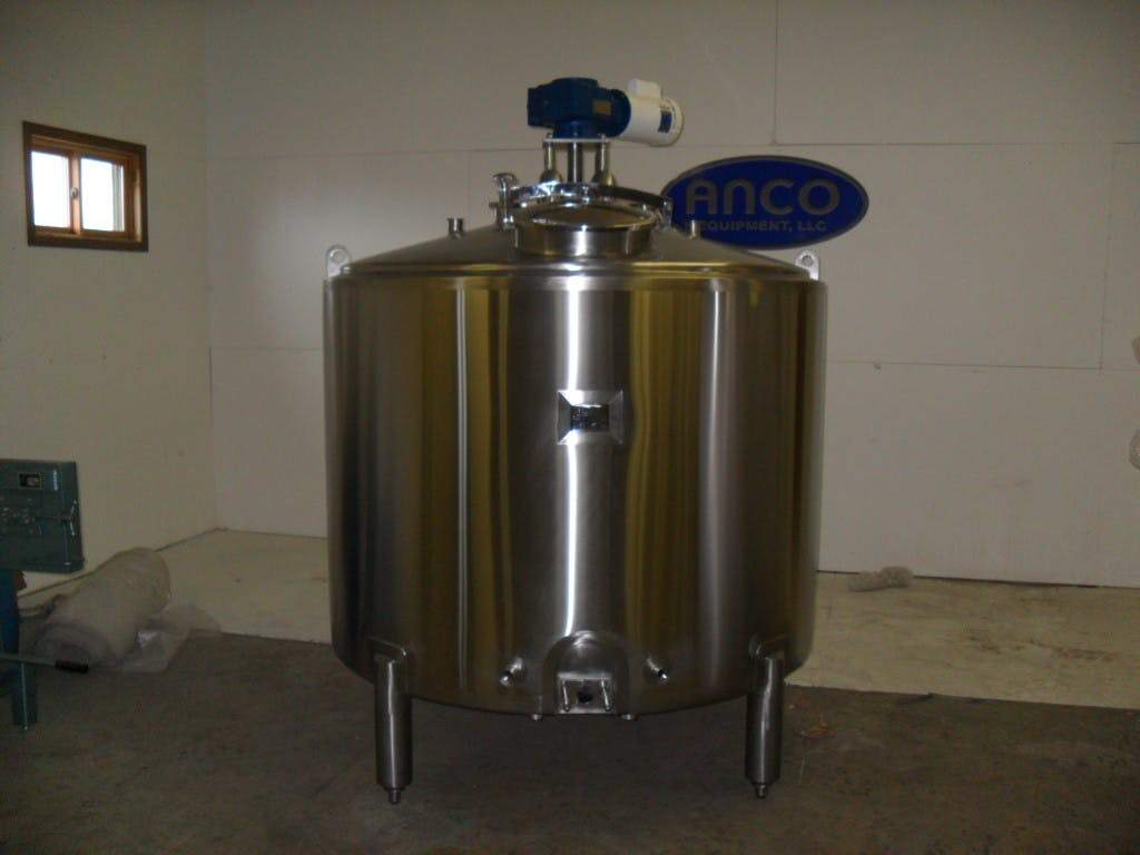 600 gallon Batch Pasteurizer Pasteurizer sold by ANCO Equipment, LLC