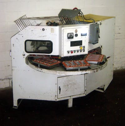 ALLOYD 6S-CBE 6-STATION BLISTER PACKAGER