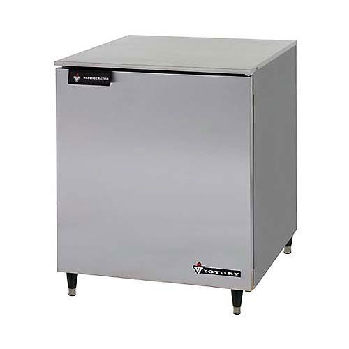 "Victory ( UF-27-SST ) - 27"" Undercounter Freezer w/ Stainless Steel Top Commercial freezer sold by Food Service Warehouse"
