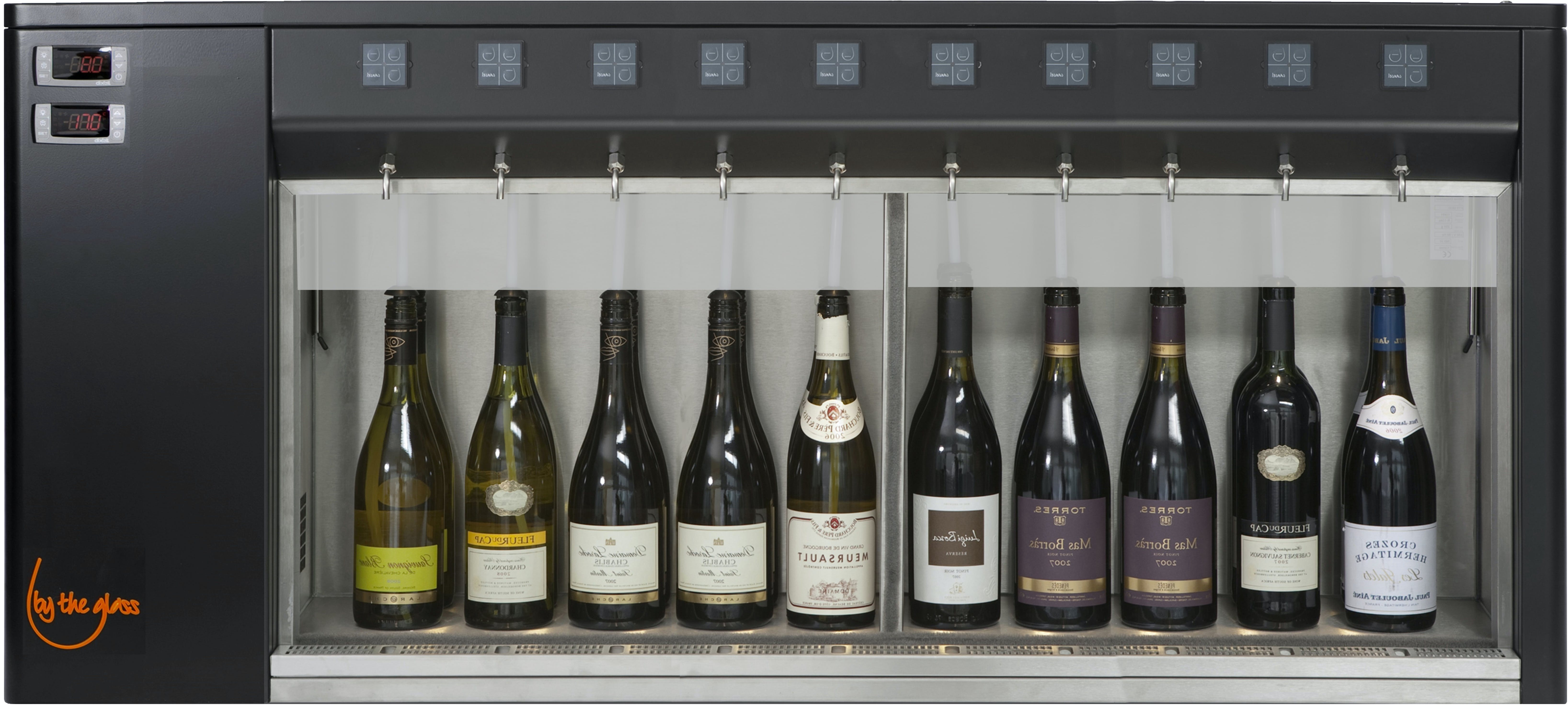 10 Bottle System Wine pub system sold by By The Glass