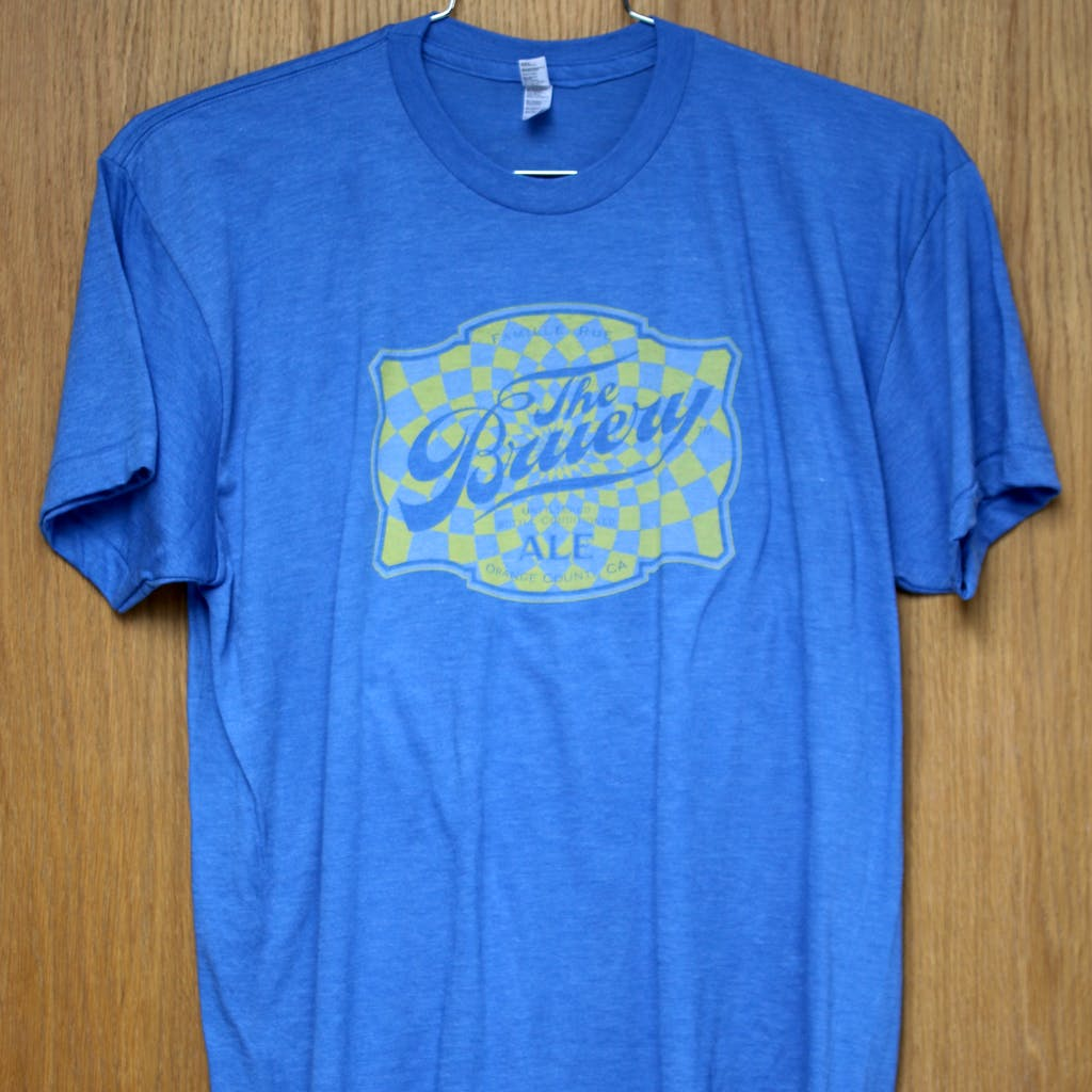 50/50 Tee - The Bruery - vintage Promotional shirt sold by Brewery Outfitters