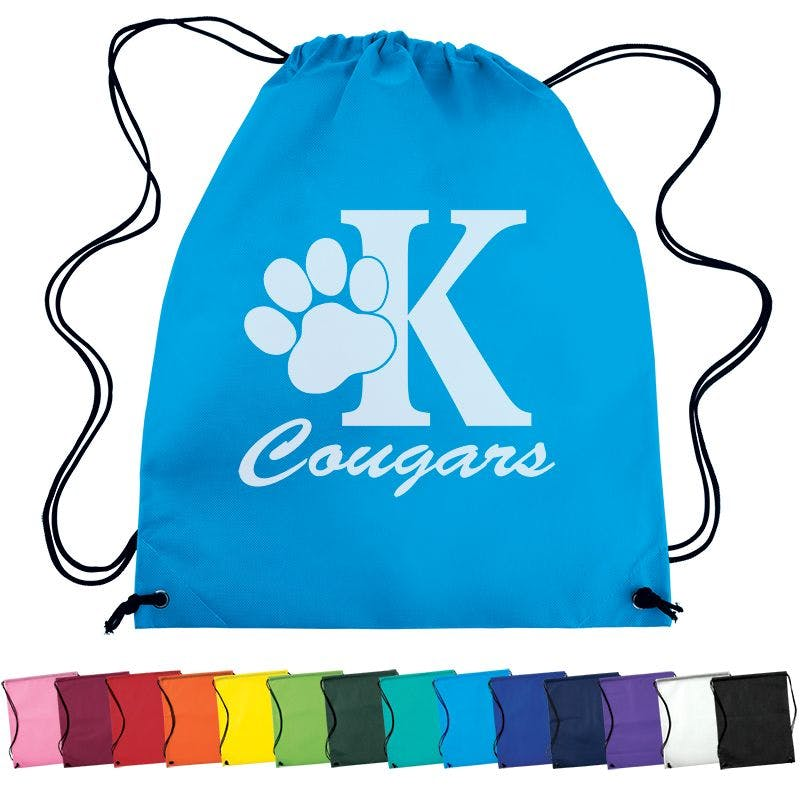 Non Woven Drawstring Backpack Bag sold by Ink Splash Promos, LLC