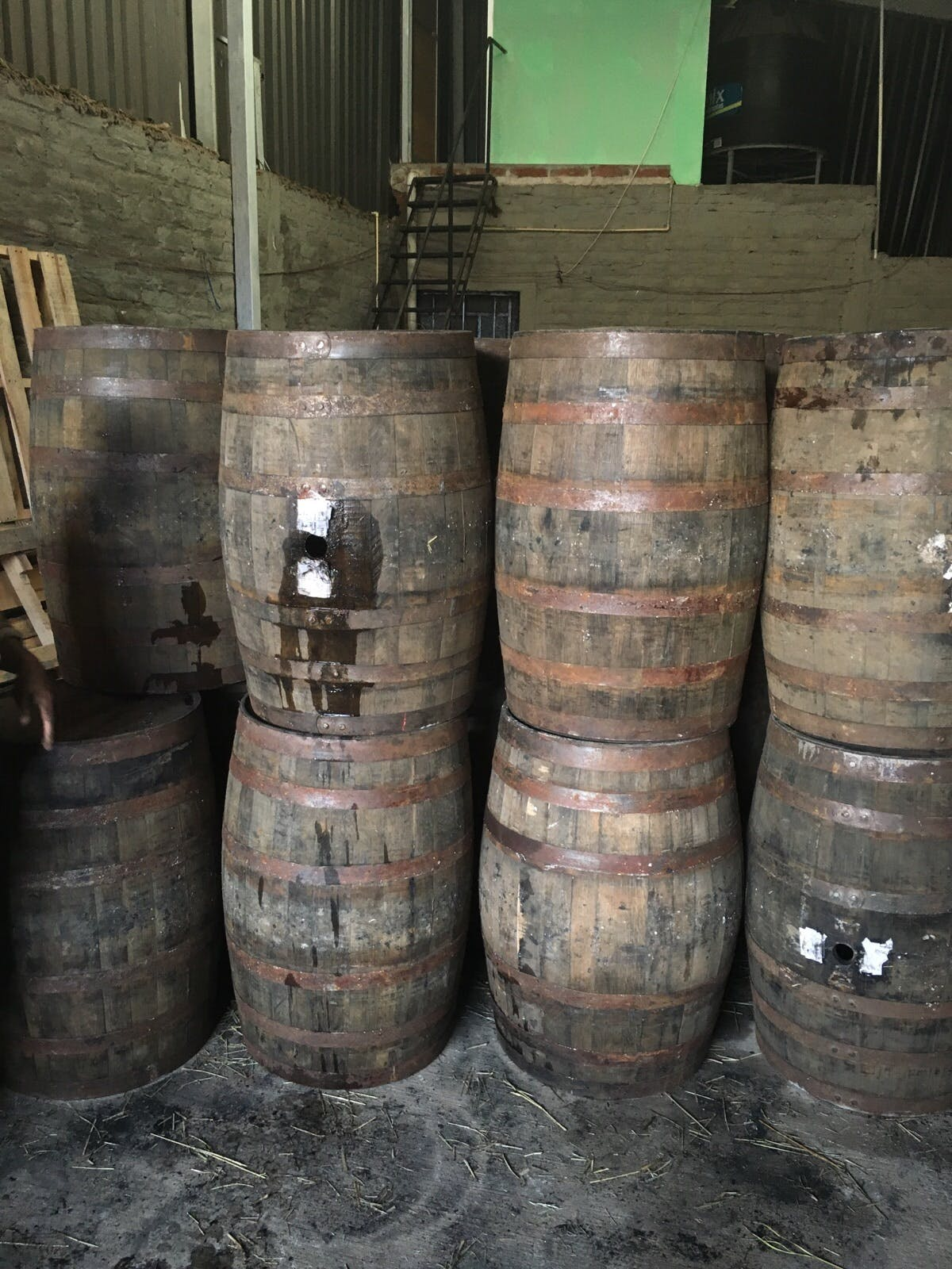 USED Tequila (Imported) Whiskey barrel sold by Rocky Mountain Barrel Company