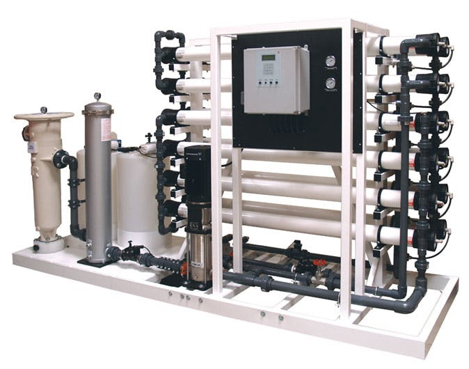 COMMERCIAL RO FROM 200GPD TO 50,000GPD  Water treatment equipment sold by Aqua Belle Mfg, Co.
