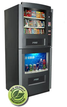 Shermco 4 Model Vending machine sold by Shermco Vending
