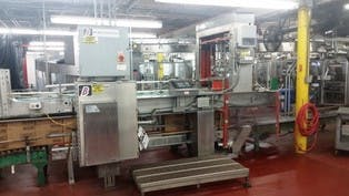 B&B Machinery Case Packer  Case packer sold by Beverage Industries