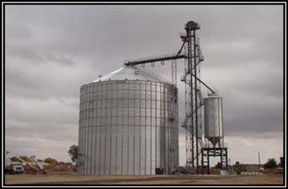500,000 Bushel Bin Grain bin sold by LCSI Group