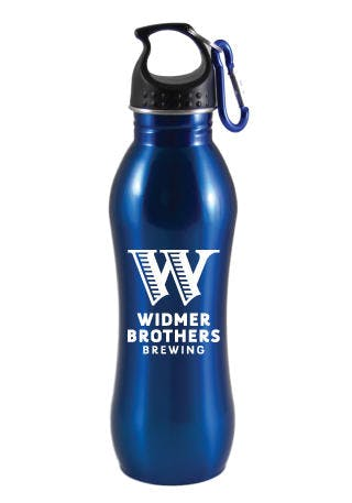 24oz Stainless Steel Water Bottle Promotional water bottle sold by Clearwater Gear