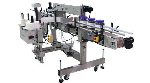 3-Panel Labeling System Labeling machine sold by BPM SYSTEMS