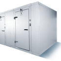 6'0'' X 16'0'' X 7'6'' Cooler-Freezer combo: Mr. Winter - Walk in cooler sold by Easy Refrigeration Company