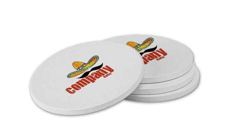 Promotional Coasters Recycled and Eco Friendly Promotional Item sold by Casa Amarosa