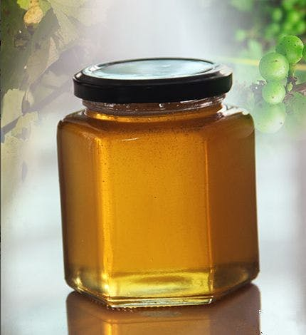 Glass honey jars & bottles - sold by Luscan Group